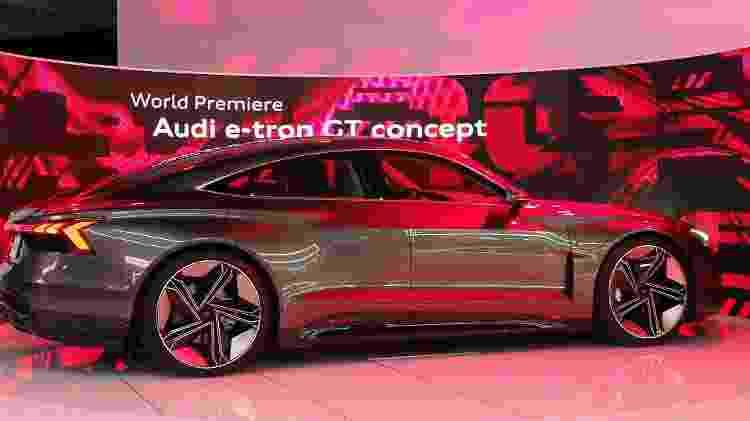 e-tron GT será um dos carros elétricos mais rápidos da Audi em 2020 - Robyn Beck/AFP - Robyn Beck/AFP