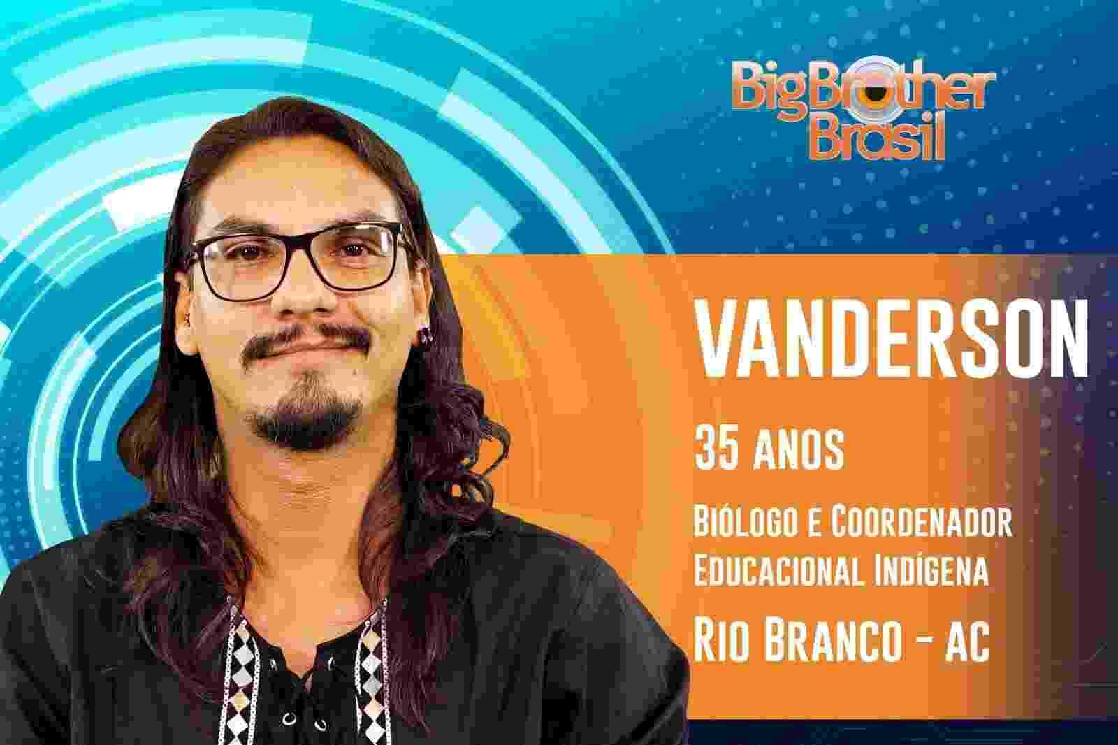 Vanderson é o décimo sétimo participante do ?BBB19? - Reprodução/TvGlobo
