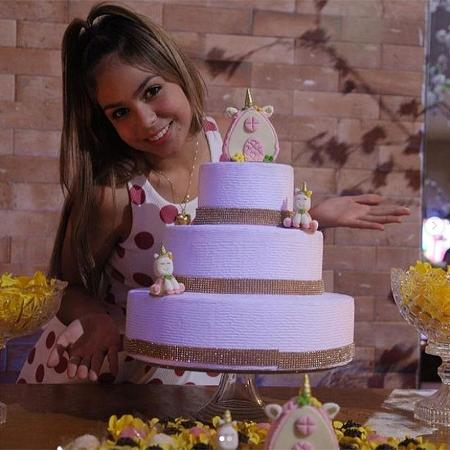 Melody comemora seus 12 anos com festa temática de unicórnio - Reprodução/Instagram