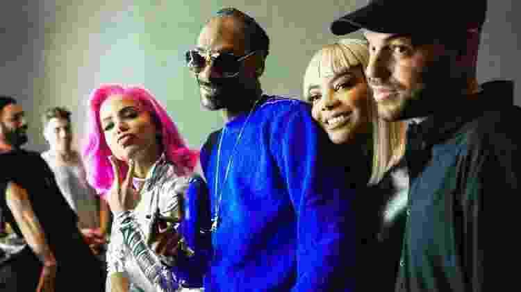 Anitta, Snoop Dogg - Divulgação - Divulgação