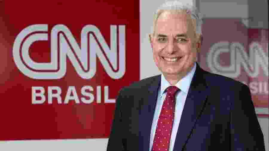 O jornalista William Waack foi contratado pela CNN Brasil - Divulgação/CNN Brasil