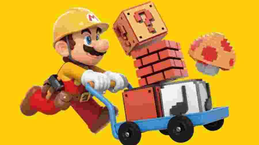 """Mario surgiu em 1981 como """"Jumpman"""" no game """"Donkey Kong"""", e só depois ganhou um jogo próprio - Divulgação"""