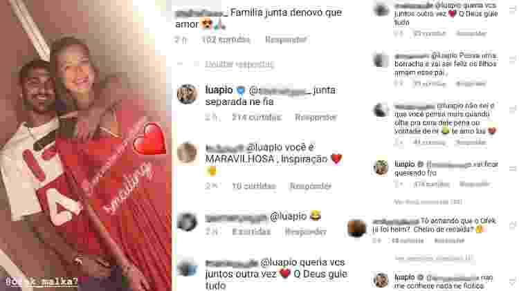Luana Piovani postou uma foto com o novo namorado e avisou seguidores que não tem volta com o ex, Pedro Scooby - Reprodução/Instagram - Reprodução/Instagram