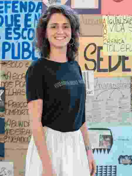Carol Duarte no evento de lançamento de Segunda Chamada - Globo/Mauricio Fidalgo