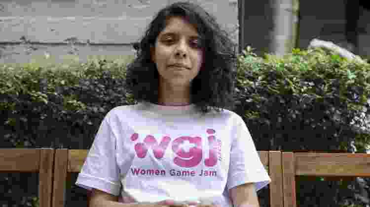Nayara Brito é animadora 3D e organizadora da WGJ no Brasil - Gabriela Cais Burdmann/UOL