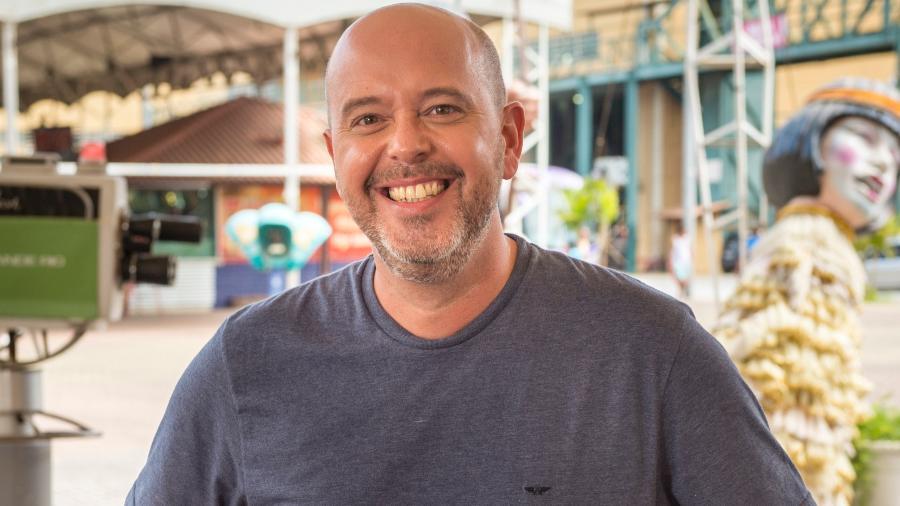 Alex Escobar, apresentador do Globo Esporte - TV Globo/Divulgação