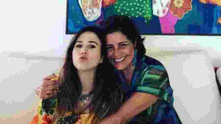 Tatá Werneck e a sogra, Valéria Alencar - Reprodução/Instagram