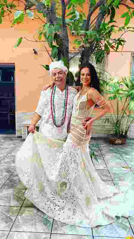Paolla Oliveira grava clipe em terreiro de candomblé - David Brazil