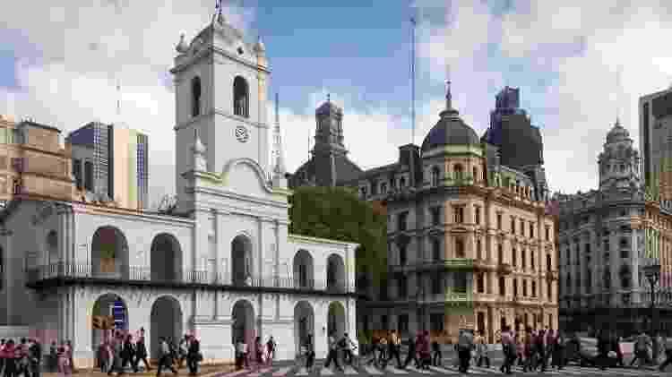 Perto da Casa Rosada, o Cabildo está na rota dos passeios pelo Centro - Ente de Turismo de la Ciudad de Buenos Aires/Divulgação