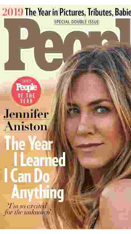 Jennifer Aniston, capa da revista People - Reprodução/People