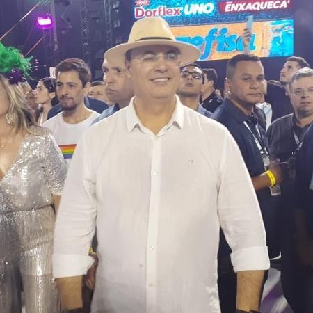 Witzel no Carnaval de 2020 - Gabriel Saboia/UOL