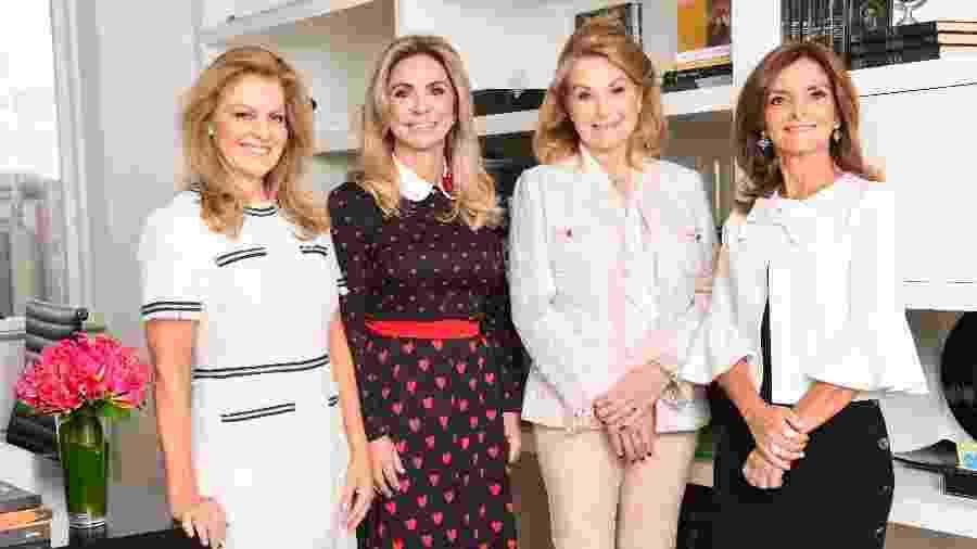 Da esquerda para a direita: Simone, Regina, Marilene e Luciane, da GIMI  - Divulgação