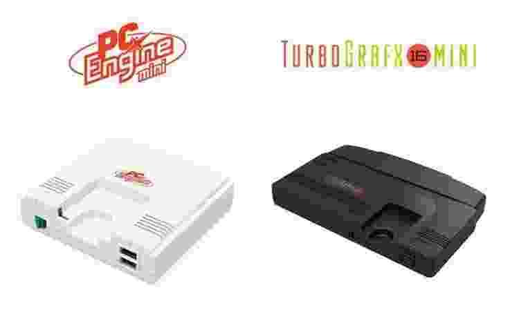 versões mini do PCE/TurboGrafx-16 - Reprodução - Reprodução