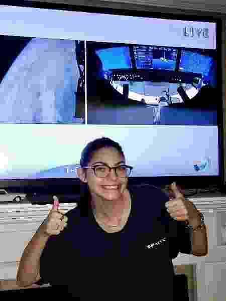 Alyssa é uma aspirante a astronauta de 19 anos, e se prepara para uma missão em Marte - Reprodução/Instagram @nasablueberry