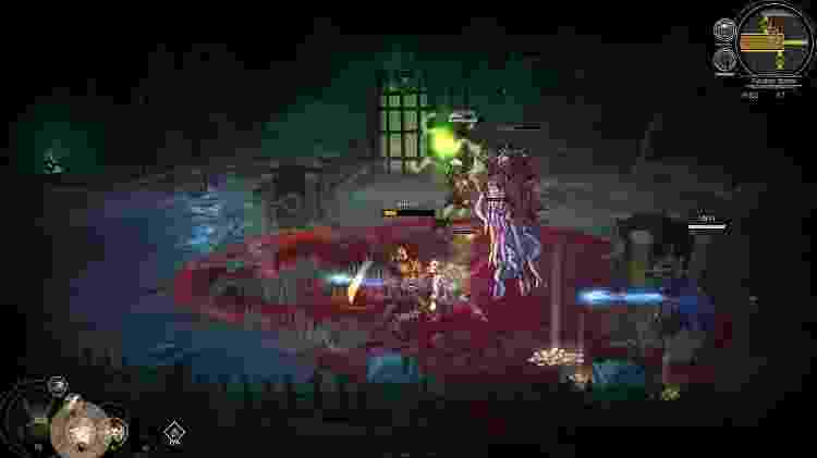 Blightbound gameplay batalha - Divulgação/Devolver Digital - Divulgação/Devolver Digital