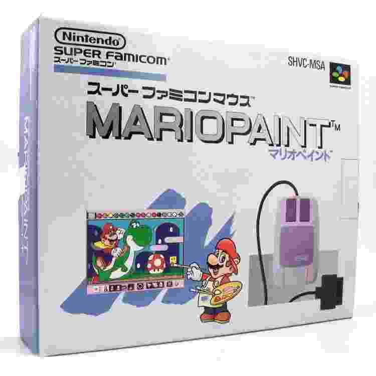Mario Paint - Reprodução/play-asia.com - Reprodução/play-asia.com