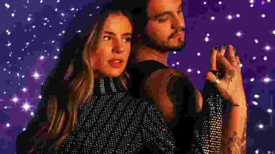 """Giulia Be e Luan Santana, no vídeo para a música """"Inesquecível"""" - Reprodução/Instagram"""