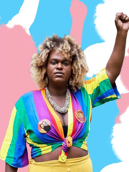 Benny Briolly na capa da reportagem sobre candidaturas trans - Patrick Mendes