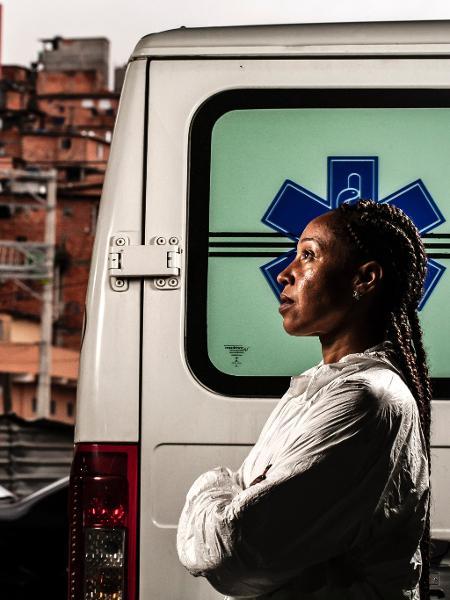 """Renata Alves, do """"192"""" de Paraisópolis, é uma das personagens da série - Fernando Moraes/UOL"""