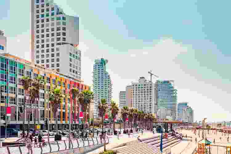 Calçadão de Tel Aviv - Getty Images - Getty Images
