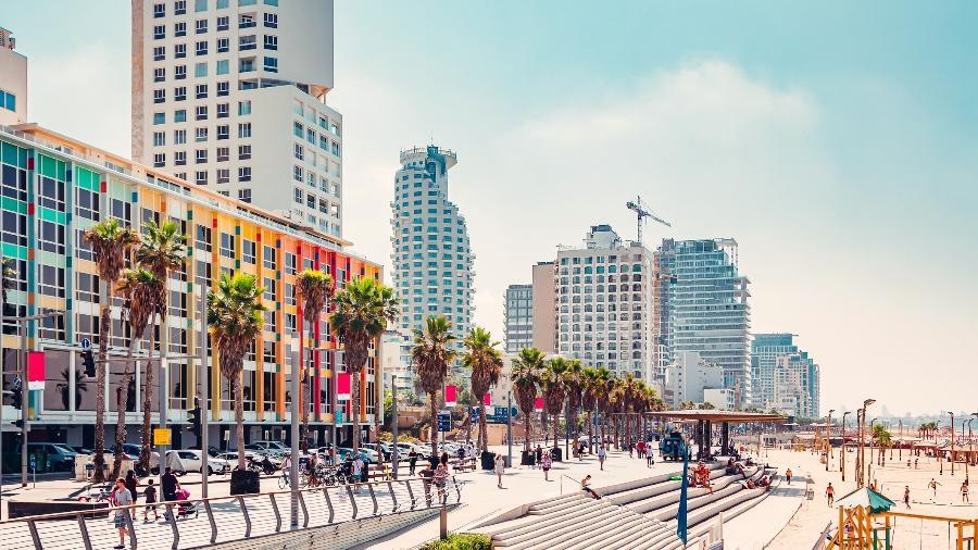 Calçadão de Tel Aviv - Getty Images