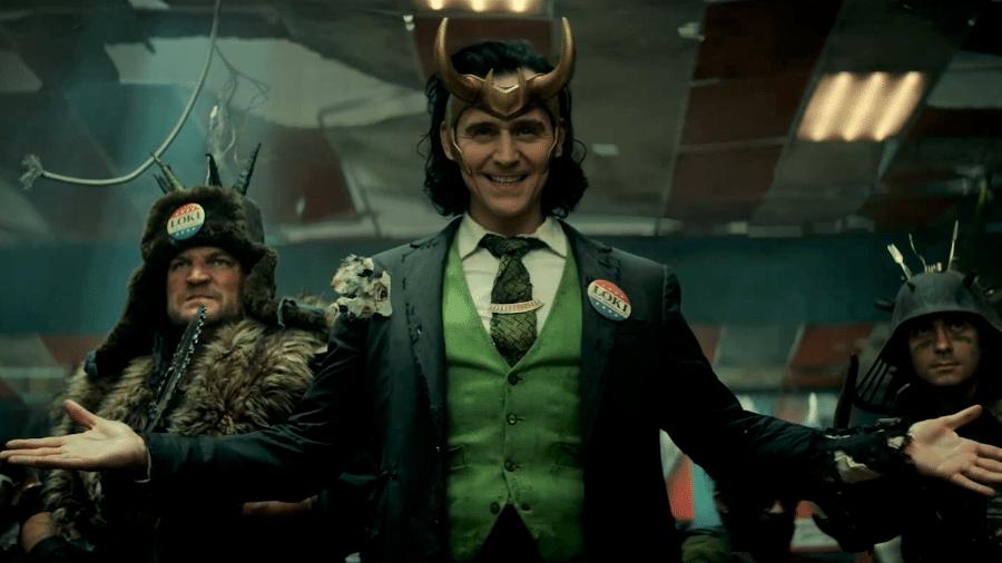 """Cena da série """"Loki"""", do MCU - Reprodução"""