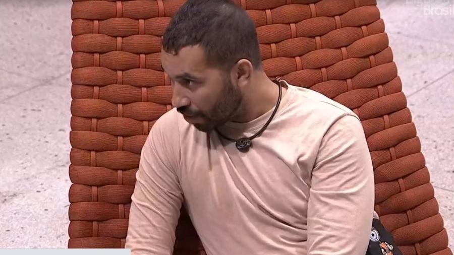 BBB 21: Gilberto especula quem irá para o paredão - Reprodução/ Globoplay