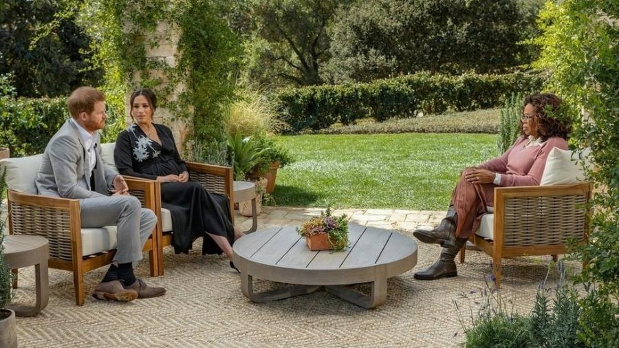 Príncipe Harry e Meghan Markle falam à Oprah Winfrey - CBS
