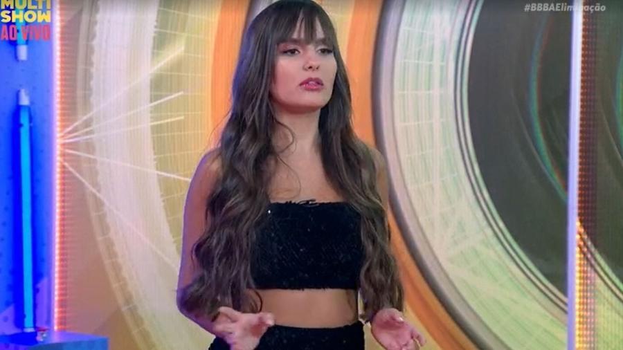 BBB 21: Thaís participa do BBB Eliminação no Multishow - Reprodução/ Globoplay