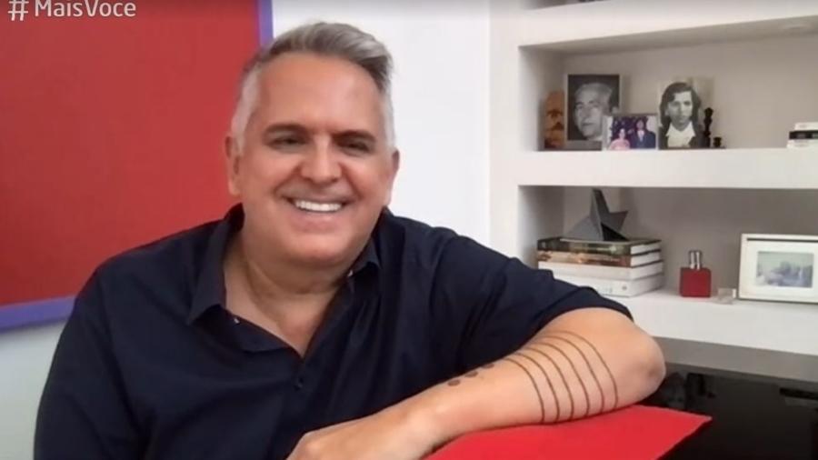 Cantor Orlando Morais fala da recuperação da covid-19 - Reprodução/TV Globo