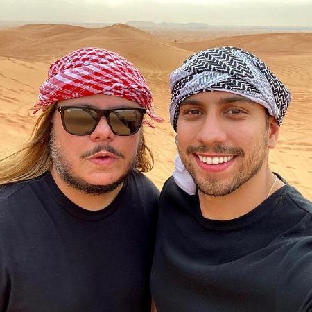 Marcus Majella e Guilerme Castro - Reprodução/Instagram