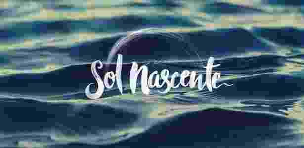 """Logo da novela """"Sol Nascente"""", próximo folhetim das seis da Globo - Divulgação"""