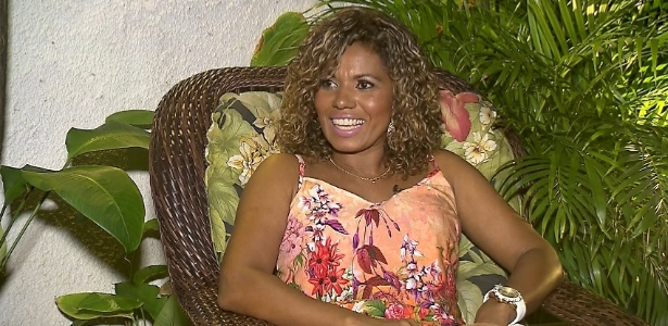 """Primeira morena do É o Tchan, Débora Brasil fala sobre depressão ao """"Câmera Record""""  - Divulgação/Record"""