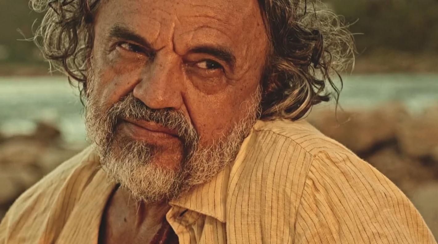 José Dumont interpreta o pescador Zé Pirangueiro em