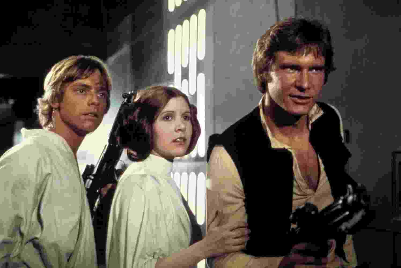 """Cena do filme """"Star Wars: Episódio IV: Uma Nova Esperança"""" (1977), de George Lucas - Reprodução"""