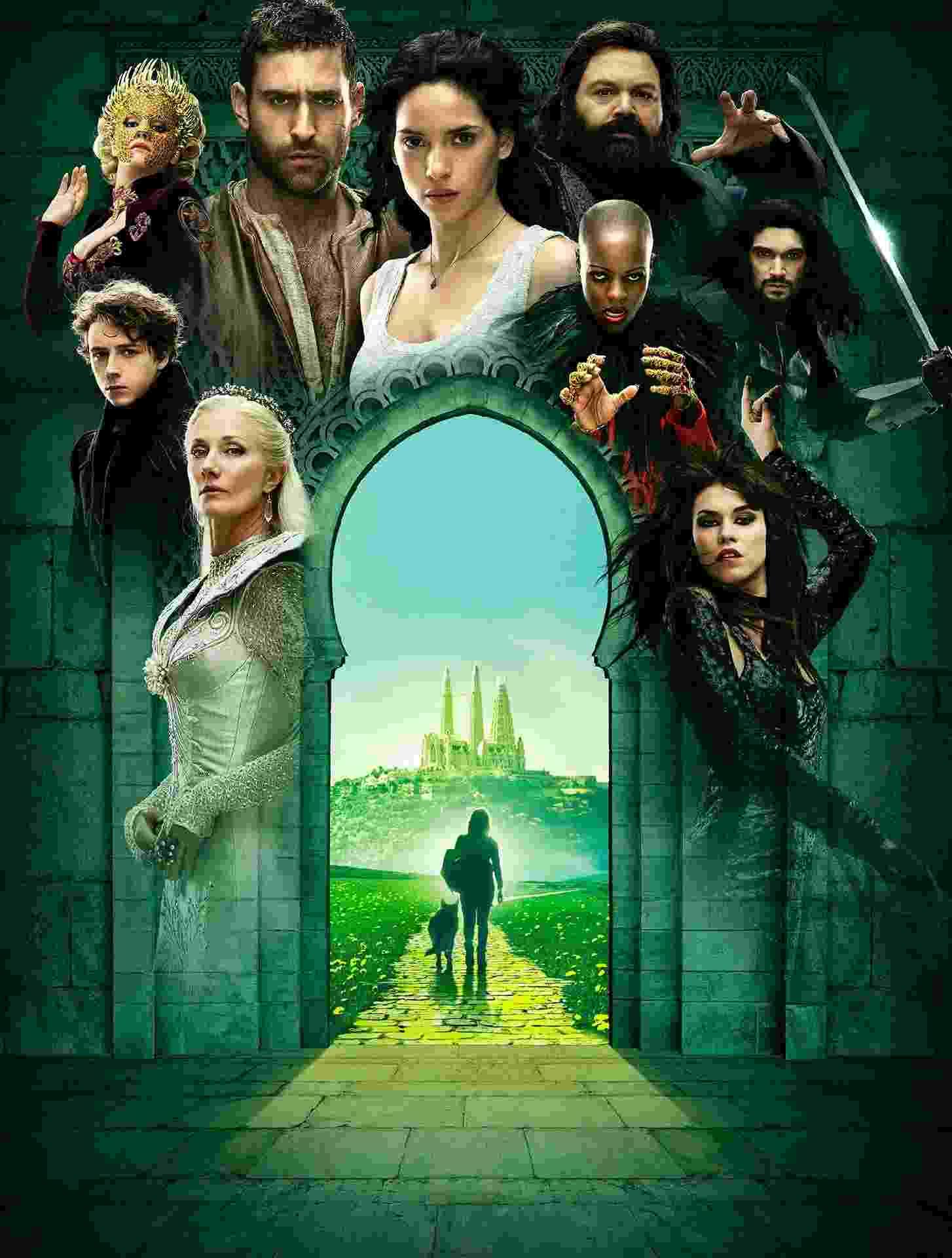 """""""Emerald City"""": a série é uma versão do clássico de 1939, estrelado por Judy Garland - Divulgação / Roger Perez Cervantes"""