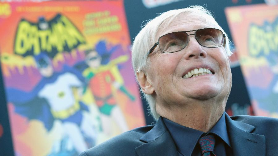 O ator Adam West participa da Comic Con em Nova York, em 2016 - Mike Coppola/Getty Images