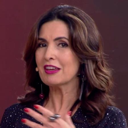 Fátima Bernardes diz que pôde se dedicar apenas aos estudos por causa do apoio de seus pais - Reprodução/TV Globo