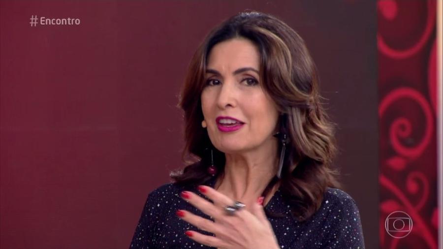 Fátima Bernardes é um sucesso publicitário, mas, financeiramente, não chega nem perto de Fausto Silva - Reprodução/TV Globo