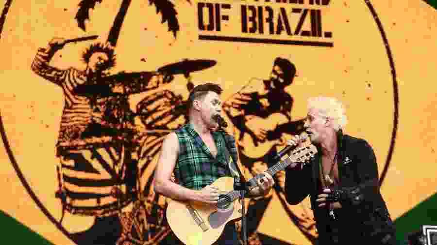 Brothers of Brazil no palco Sunset durante o sexto dia do festival Rock in Rio 2015 - Wilton Junior/Estadão Conteúdo