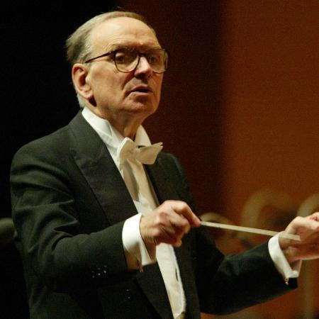 O compositor Ennio Morricone - Divulgação