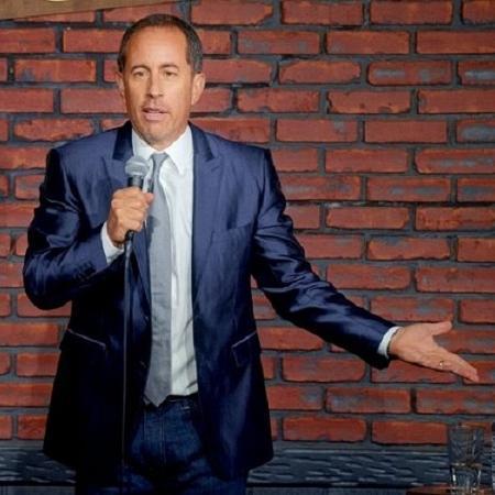 O humorista Jerry Seinfeld - Netflix