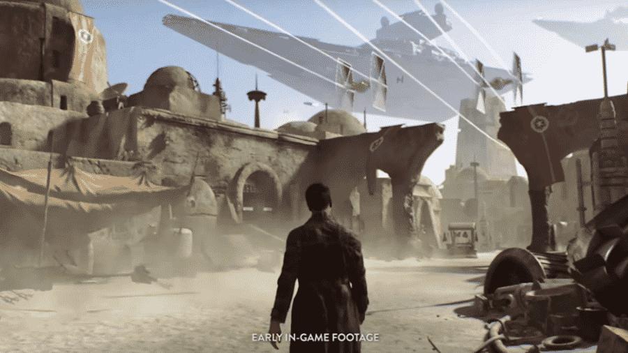 """Poucos detalhes do novo """"Star Wars"""" tinham sido divulgados publicamente - Reprodução/Electronic Arts"""
