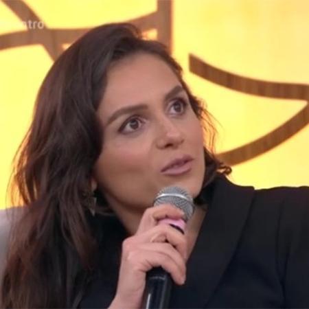 Monica Iozzi   - Reprodução/Globo