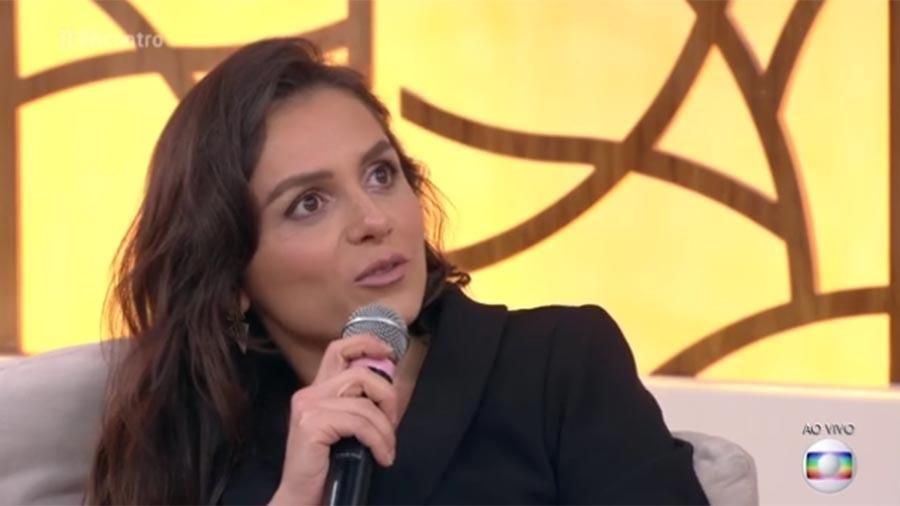 """Monica Iozzi diz no """"Encontro"""" que pretende voltar para as redes sociais - Reprodução/Globo"""