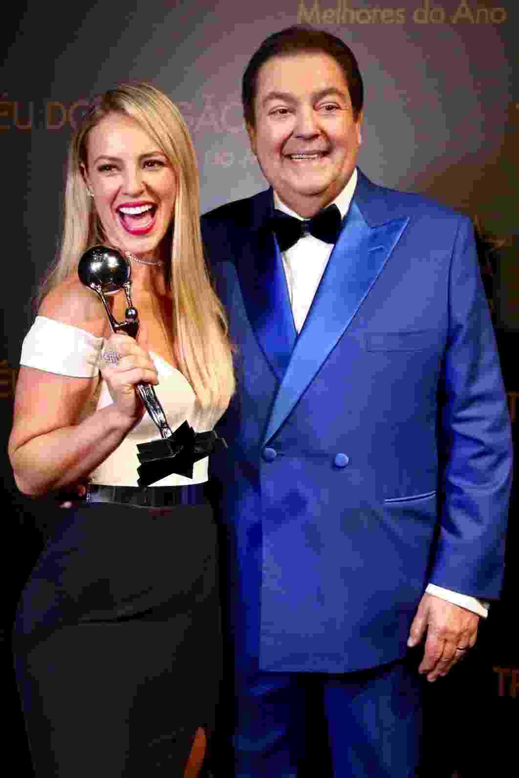Paolla Oliveira e Fausto Silva - Manuela Scarpa/Brazil News