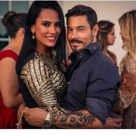 Kelly e o marido, Marco António - Reprodução/Instagram