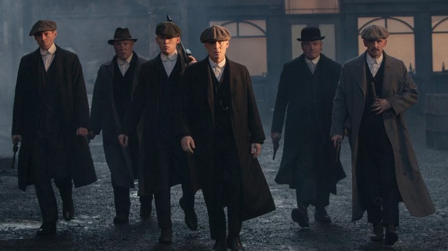 """Elenco da série britânica """"Peaky Blinders"""" - Reprodução"""