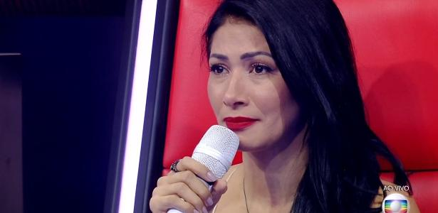"Simaria chora na transmissão ao vivo da final do ""The Voice Kids Brasil"""