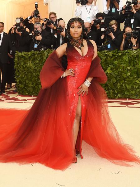 Nicki Minaj lança seu álbum em agosto - Getty Images